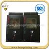 Custom Design Headphone Box with Blister,Color printing packaging box,headphones packaging box
