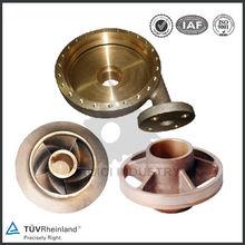 Centrifugal pump parts bronze sand casting bronze submersible pump impeller