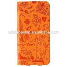 OZAKI O!Coat 0.3 Travel leather folio case for iPhone 6 Mobile Phone Cases - New York