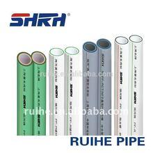glass fiber reinforced ppr pipe in plastic tube