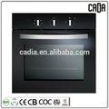 Mejor calidad de negro de promoción para el hogar eléctrico construido- en el horno