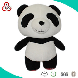 Cute Soft Stuffed Funny Factory Price big eye panda for sale