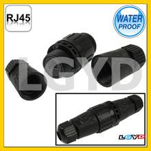 IP67 Shielded RJ45 Waterproof Connector, Cable Diameter: 5mm