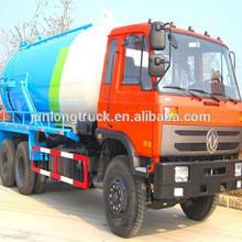 dongfeng 6x4 18 cbm vácuo caminhãodesucçãodeáguadeesgoto