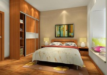 hot selling 100% solid wood furniture bedroom