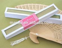 Beautiful Gift Wedding Fan/ Personalized Fan Wedding Decoration/ High Quality Sandalwood Fan Wedding Favors