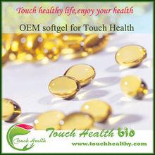 Touchhealthy fuente de alimentación Nutrilite productos OEM ODM líquido de calcio D3 de gelatina blanda