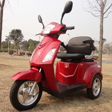 3 wheels electric powered 12v lithium battery 2 wheels electric mobility scooter for old people