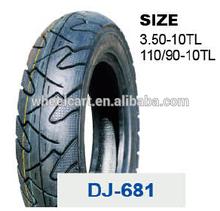 high quality cheap china DJ motorcycle tyre 110/90-10