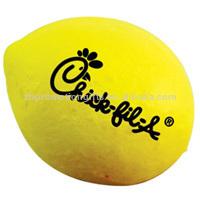 Promotional lemon PU Stress Ball