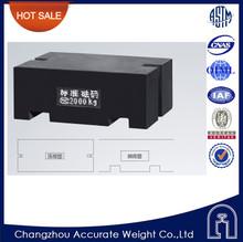 OIML M1 2000kg block mass,cast iron test weight,iron pavilion weight