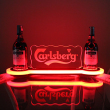 acrylic bottle glorifiers led light base , led bottle glorifiers , ciroc vodka light-up bottle glorifier display