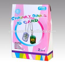 Diy Ideas Shrink Plastic Sheet ID Card