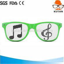 Fashionable cheapest promotional pinhole pixel sunglasses