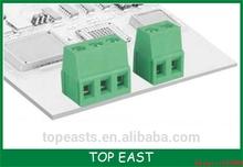 2 Pin 3P-24Pin PCB Terminal Block Connector 5.0mm Pitch UL IEC PA66,UL94V-0