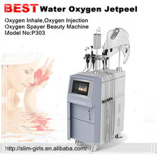 Most popular Water jet peel,hydro dermabrasion skin peeling machine,oxygen inject machine ,SG-P303
