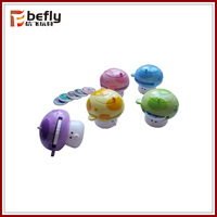 Mashroom plastic disc shooting toy