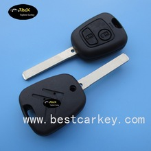 Good price 2 button remote control key for Citroen c3 remote key citroen c3 2 buttons