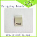 Marque un nouveau style de vêtements tissés& étiquettes imprimées