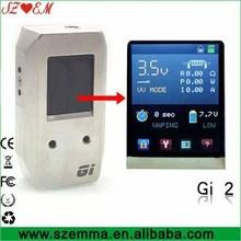 High quality gi2 mod 100w with 1.77 inch TFT display
