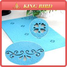 felt fabric large mat AZO test wool felt large mat non woven mat