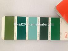 Powder Coating RAL6028 pine green RAL6029 mint green spray powder coating paint