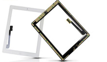 For iPad 4 Touch Screen Glass Digitizer With Home Button Assembly