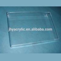 clear cube acrylic make up box
