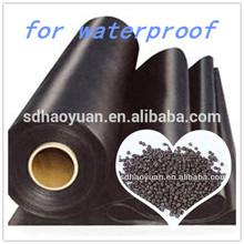 RAW PVC plastic for calendaring waterproof plastic material