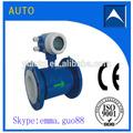 Bateria operado medidor de fluxo eletromagnético/absorventes de água digital medidor de fluxo feitas iin china
