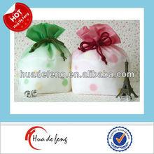 Custom drawstring non woven reusable gift bags uk