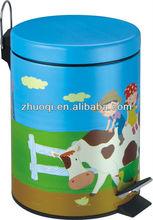 baby bin cartoon dustbin children garbage container