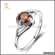 2014 Fashion Ruby Jewelry 925 Sterling Silver Elegant Ring
