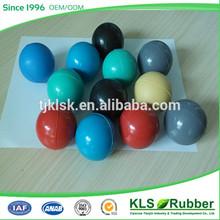 custom rubber play ball