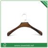 luxury decorative women's wooden coat hanger dimensions