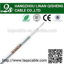 10 años de experiencia en la fabricación 75 ohmios cable coaxial catv rg6 accesorios