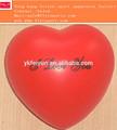 Barato pu vermelho coração; mini pu de espuma coração vermelho bola; pu espremer brinquedo em forma de coração vermelho;