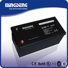 Hot sale 12v vrla lead acid agm 200ah dry cell battery