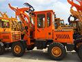 Tractor de ruedas de tipo y 4WD por rueda cargador frontal