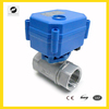 water treatment electric ball valve motor valve 3/4'' NPT with flow control adjustable proportional control