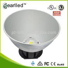 indoor/outdoor lighting meanwell driver, cob brdgelux 120w high bay lighting