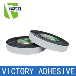 Double sided rubber insulation foam tape