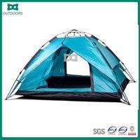 Automatic stock three season 2 person climbing camping tent