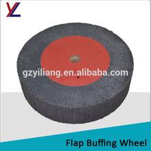 wood jewelry ring 240 grit flap grind wheel