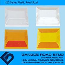Highway brightness durable plastic road stud ,plastic road reflector