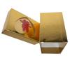 Customized Golden Rectangular Shape Wedding Gift Box
