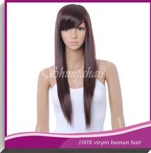 long hair china sex woman wig,cosplay pink wig,long silky straight hair wig