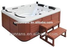 Sexy free sex dvd video/ pop-up tv massage bathtub acrylic massage whirlpool spa