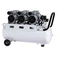 portable dental unit with air compressor,dental chair compressor,oilless air compressor(Hw-550/50d)