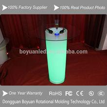 Promotion barware Plastic ice bucket/ elegant bear cooler/Large party ice bucket